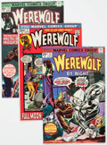 Bronze Age (1970-1979):Horror, Werewolf by Night Group of 32 (Marvel, 1972-77) Condition: AverageVG+.... (Total: 32 Comic Books)