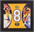 Basketball Collectibles:Others, Kobe Bryant Signed Upper Deck Authenticated Display....