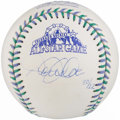 Baseball Collectibles:Balls, Derek Jeter Single Signed Baseball....