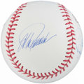 "Baseball Collectibles:Balls, 2009 New York Yankees ""Core Four"" Multi-Signed Baseball. ..."