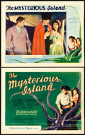 """Movie Posters:Science Fiction, The Mysterious Island (MGM, 1929). Title Lobby Card and Lobby Card(11"""" X 14"""").. ... (Total: 2 Items)"""