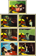 "Movie Posters:Horror, Son of Dracula (Realart, R-1948). Title Lobby Card and Lobby Cards(6) (11"" X 14"").. ... (Total: 7 Item)"
