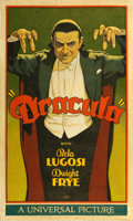 "Movie Posters:Horror, Dracula by Arthur K. Miller (2016). Original Artwork Cloth Banner(27.5 X 45"").. ..."