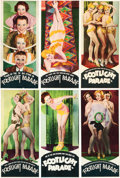"Movie Posters:Musical, Footlight Parade (Warner Brothers, 1933). Double-Sided Heralds Setof 12 (4"" X 9"").. ... (Total: 12 Items)"