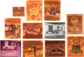 Miscellaneous Collectibles:General, 1950's-Early 1970's Professional Auto Racing Positives/NegativesLot of 70+....