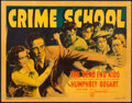 "Movie Posters:Crime, Crime School (Warner Brothers, 1938). Linen Finish Title Lobby Card(11"" X 14"").. ..."