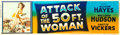 "Movie Posters:Science Fiction, Attack of the 50 Foot Woman (Allied Artists, 1958). Banner (24"" X82"").. ..."