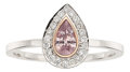 Estate Jewelry:Rings, Fancy Purple-Pink Diamond, Diamond, Gold Ring. ...