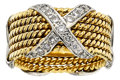 Estate Jewelry:Rings, Diamond, Platinum, Gold Ring, Jean Schlumberger for Tiffany & Co.. ...