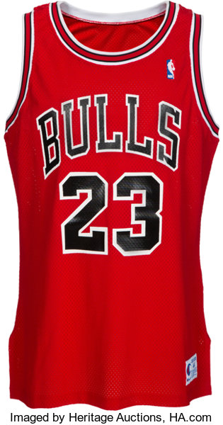 new styles e148b c1cfd 1990-91 Michael Jordan Game Worn & Signed Chicago Bulls ...