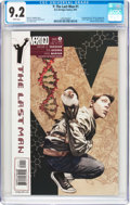 Modern Age (1980-Present):Miscellaneous, Y: The Last Man #1 (DC/Vertigo, 2002) CGC NM- 9.2 White pages....