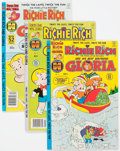 Modern Age (1980-Present):Humor, Richie Rich and Gloria #2-24 Near Complete Range File Copy Group of81 (Harvey, 1977-82) Condition: NM-.... (Total: 81 Comic Books)