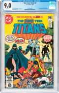 Modern Age (1980-Present):Superhero, New Teen Titans #2 (DC, 1980) CGC VF/NM 9.0 White pages....