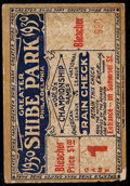 Baseball Collectibles:Tickets, 1930 World Series Game 1 Ticket Stub....