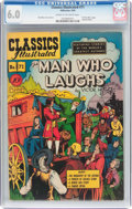 Golden Age (1938-1955):Classics Illustrated, Classics Illustrated #71 The Man Who Laughs (Gilberton, 1950) CGCFN 6.0 Cream to off-white pages....