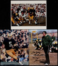 Football Collectibles:Photos, Packers Greats Signed Photographs Lot of 3....