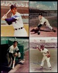 Baseball Collectibles:Photos, Chicago White Sox Greats Signed Photographs Lot of 4....
