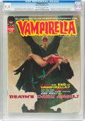 Magazines:Horror, Vampirella #12 (Warren, 1971) CGC NM 9.4 Off-white to white pages....