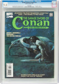 Magazines:Adventure, Savage Sword of Conan #211 (Marvel, 1993) CGC NM/MT 9.8 White pages....