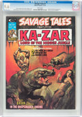 Magazines:Superhero, Savage Tales #7 (Marvel, 1974) CGC NM+ 9.6 White pages....