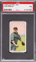 Baseball Cards:Singles (Pre-1930), 1909-11 T206 Old Mill Hub Perdue PSA NM 7 - Southern Leaguer. ...