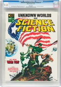 Magazines:Science-Fiction, Unknown Worlds of Science Fiction #2 (Marvel, 1975) CGC NM/MT 9.8White pages....
