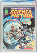 Magazines:Science-Fiction, Unknown Worlds of Science Fiction #4 (Marvel, 1975) CGC NM/MT 9.8White pages....