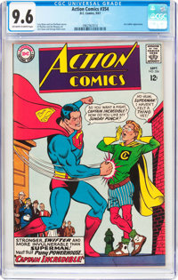 Action Comics #354 (DC, 1967) CGC NM+ 9.6 Off-white to white pages