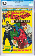 Bronze Age (1970-1979):Superhero, The Amazing Spider-Man #129 (Marvel, 1974) CGC VF+ 8.5 Off-white to white pages....