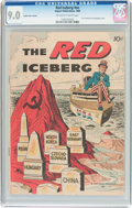 Silver Age (1956-1969):Miscellaneous, The Red Iceberg #nn Impact Press Variant (Impact, 1960) CGC VF/NM 9.0 Off-white to white pages....
