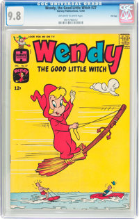 Wendy, the Good Little Witch #27 File Copy (Harvey, 1964) CGC NM/MT 9.8 Off-white to white pages