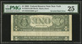Error Notes:Inverted Reverses, Fr. 1928-B $1 2003 Inverted Reverse Federal Reserve Note. PMG VeryFine 25.. ...