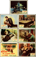 """Movie Posters:Film Noir, In a Lonely Place (Columbia, 1950). Title Lobby Card & LobbyCards (6) (11"""" X 14""""). From the collection of William E. Rea...(Total: 7 Items)"""