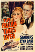 "Movie Posters:Crime, The Falcon Takes Over (RKO, 1942). One Sheet (27"" X 41""). Fromthe collection of William E. Rea.. ..."