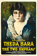 "Movie Posters:Drama, The Two Orphans (Fox, R-1918). One Sheet (27.5"" X 41"") Style A....."