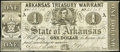 Obsoletes By State:Arkansas, (Little Rock), AR- State of Arkansas $1 Apr. 14, 1862 Cr. 34...