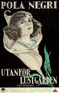 """Movie Posters:Drama, Lily of the Dust (Paramount, 1925). Swedish One Sheet (22.5"""" X35.5"""").. ..."""