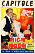 "Movie Posters:Western, High Noon (United Artists, 1952). Belgian (1.75"" X 21"").. ..."