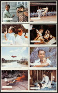 Movie Posters:James Bond, The Man with the Golden Gun (United Artists, 1974). British Frontof House Color Photo Set of 8 & Mini Lobby Card Set of 8 (...(Total: 16 Items)