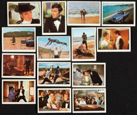 """On Her Majesty's Secret Service (Anglo Confectionary, 1969). Trading Card Set of 56 (2.25"""" X 3""""). ... (Total:..."""