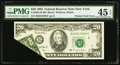 Error Notes:Foldovers, Fr. 2081-B $20 1995 Federal Reserve Note. PMG Choice Extremely Fine45 EPQ.. ...