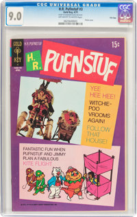 H.R. Pufnstuf #3 File Copy (Gold Key, 1971) CGC VF/NM 9.0 Off-white to white pages