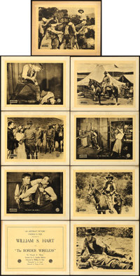 "The Border Wireless (Artcraft, 1918). Lobby Card Set of 9 (11"" X 14""). ... (Total: 9 Items)"