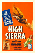 "Movie Posters:Film Noir, High Sierra (Warner Brothers, 1941). One Sheet (27"" X 41"").. ..."