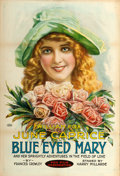 "Movie Posters:Drama, Blue-Eyed Mary (Fox, 1918). One Sheet (28"" X 41"") Portrait Style....."