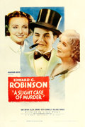 "Movie Posters:Comedy, A Slight Case of Murder (Warner Brothers, 1938). One Sheet (27"" X41"").. ..."