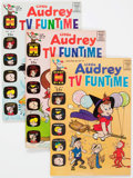 Silver Age (1956-1969):Cartoon Character, Little Audrey TV Funtime #2 and 21-33 File Copies Group of 66(Harvey, 1963-71) Condition: Average NM-.... (Total: 66 ComicBooks)