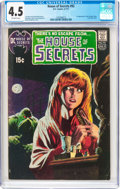 Bronze Age (1970-1979):Horror, House of Secrets #92 (DC, 1971) CGC VG+ 4.5 Off-white pages....
