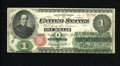Fr. 16 $1 1862 Legal Tender Fine-Very Fine. This crispy Ace is blessed with excellent color for the grade. Closer inspec...