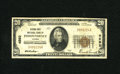 National Bank Notes:Kansas, Independence, KS - $20 1929 Ty. 1 Citizens-First NB Ch. # 4592. Officers R.W. Cates and Ernest Sewell placed this bank i...